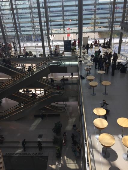 Ein Blick in die Congress Halle