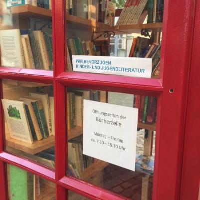 Büchertauschzelle Georgenstraße Zwickau