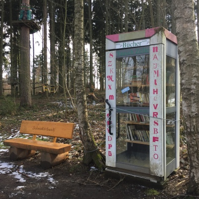 Bücherschrank Talsperre Pöhl