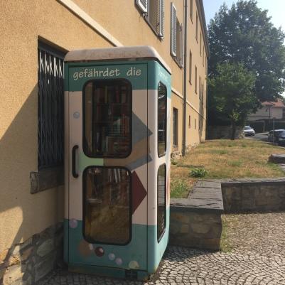 Bücherzelle Hellerau