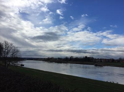 Die Elbe!!!